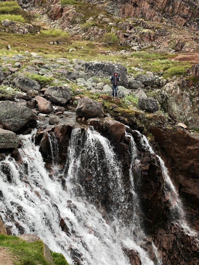водопад Териберки
