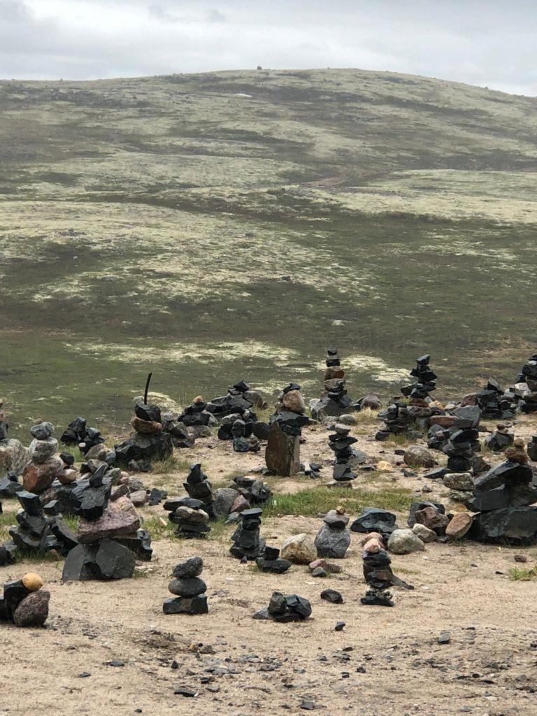 Камушки равновесия в Териберке