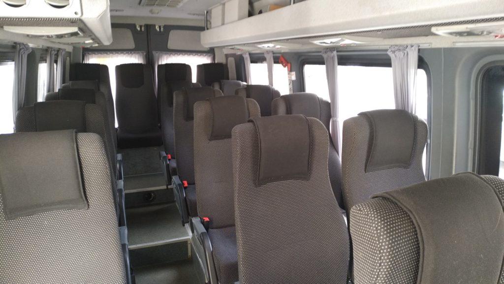 Салон микроавтобуса мерседес