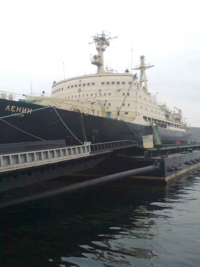 BARENS icebreaker Lenin